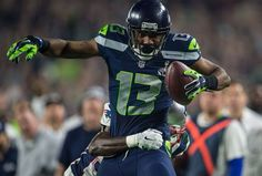 Seahawks wide receiver Chris Matthews recorded his first NFL catch and first NFL touchdown in Super Bowl XLIX against the New England Patriots. Seattle Sounders, Seattle Mariners, Seattle Seahawks, Seahawks Football, Best Football Team, Football Helmets, Seattle Mist, Chris Matthews, Wide Receiver