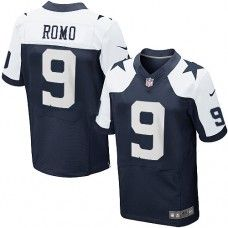 2c60ff420 Men s Nike Dallas Cowboys  9 Tony Romo Elite Throwback Jersey Cowboys 88