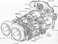 [Cutaway] Napier Sabre engine