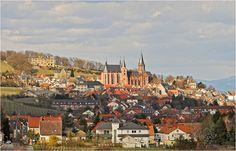 Oppenheim, Germany. I can see my old house from here.