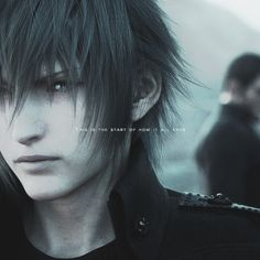 """""""This is the start of how it all ends."""" Final Fantasy XV"""