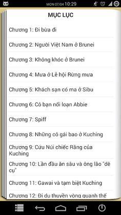 """Tập 1: Châu Á là nhà, Đừng khóc !<p>* Ứng dụng tải nội dung truyện về thẻ nhớ => Tiết kiệm bộ nhớ trong cho máy thiếu bộ nhớ<br>** Ứng dụng hoàn toàn miễn phí (Không SMS)<br>*** Khi đọc truyện tắt kết nối internet để tắt quảng cáo<p>Bước chân của Huyền khởi đầu cho trào lưu mới trong giới trẻ Việt: Khát khao vươn ra thế giới, đi và trải nghiệm. Cô bé quyết chí làm """"Ta ba lô"""" không chỉ để thỏa mãn khát khao khám phá, trưởng thành mà còn đem hình ảnh, văn hóa Việt Nam đến với bạn bè năm châu…"""