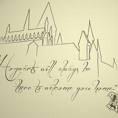 Hogwarts... Always my home.