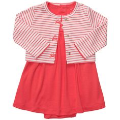 "Carter's Girls 2 Piece Striped Cardigan and Dress Set - Carters - Babies ""R"" Us"