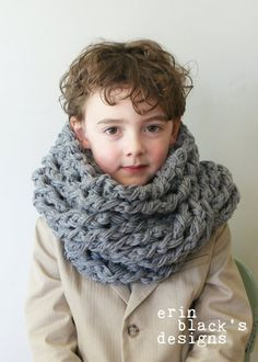 DIY Crochet PATTERN Chunky Crochet Twisted by ErinBlacksDesigns