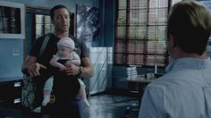 Scene from upcoming s4 epi three men and a baby! Lol!❤