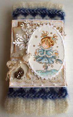 Annes lille hobbykrok: Jul, Christmas, LOTV, Distress Ink