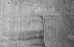 See the eye on the prow of Tuthmosis III's boat? It's apotropaic.
