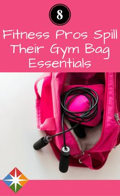 Eight gym bags, 78 fitness items the pros can't live without. Find out what spinning, yoga, group fitness, swimming and other coaches take to their classes for success.