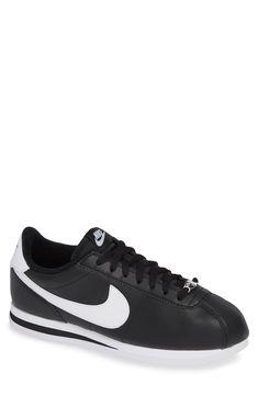 innovative design a602e 842bc Men s Nike Cortez Basic Leather Sneaker, Size 11 M - Black