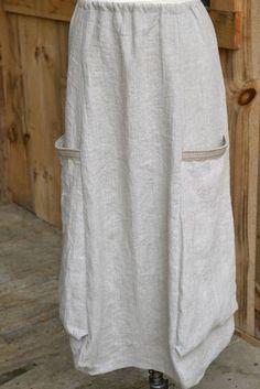 Marcy Tilton pattern  linen from www.fabrics-store.com