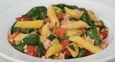 Salmon, Tomato & Spinach Pasta | Tony Ferguson Weightloss Program