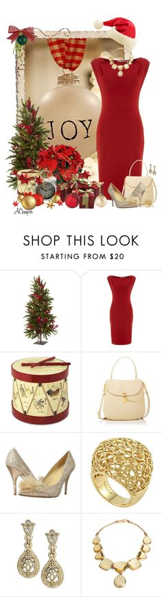 """""""Joy To The World"""" by anna-campos ❤ liked on Polyvore featuring Nearly Natural, Kilian Kerner Senses, Williams-Sonoma, Henri Bendel, Kate Spade, Lagos and Yves Saint Laurent"""