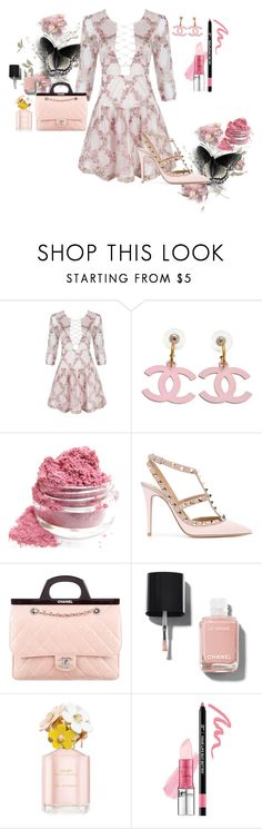 """""""Donna Bella Chic"""" by style-xxiv ❤ liked on Polyvore featuring Chanel, Valentino, Marc Jacobs and It Cosmetics"""