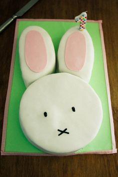 Bunny Party - cumple de 1 año para niñas