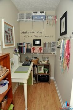 Craft Room Squeezed Into A Small Space. Part 93