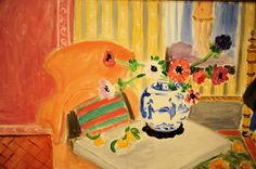 Henri Matisse - Anemones and Chinese Vase