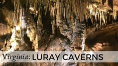 A US national landmark, Luray Caverns belongs to the most beautiful caverns in North America. Explore this subterranean kingdom of towering stalactites and s. Luray Caverns, National Landmarks, Virginia Usa, Virtual Tour, Family Travel, Places To See, North America, Travel Inspiration, Tours