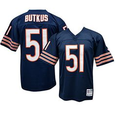 Dick Butkus Chicago Bears Throwback Jersey Large * Continue to the product at the image link.