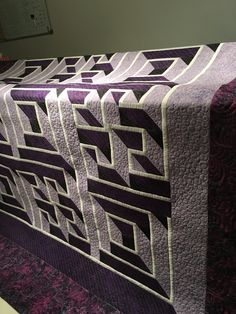 580 Best 3d quilts images in 2019   3d quilts, Bedspreads, Labyrinth