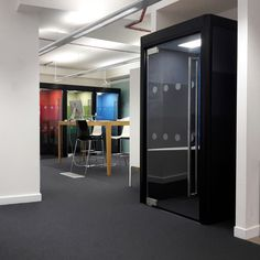 Spacio Office Phone Booth & Linked Booths