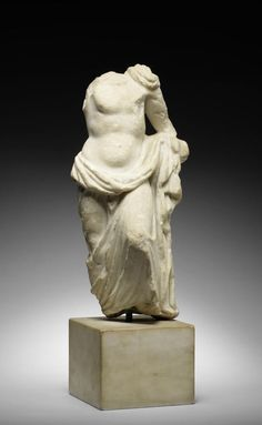 A Roman marble figure of Dionysus. Circa 1st-2nd Century A.D.