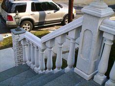 48 Best Concrete Railings Balustrade System Images