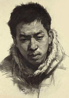 [Album] Tác Phẩm Hình Họa Chân Dung Mỹ Thuật - How To Draw Library
