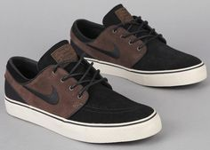 Nike SB Zoom Stefan Janoski Low - Baroque Brown / Black - Birch | KicksOnFire #shoes #men #style