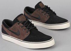 Nike SB Zoom Stefan Janoski Low - Baroque Brown / Black - Birch | KicksOnFire #shoes #men #style