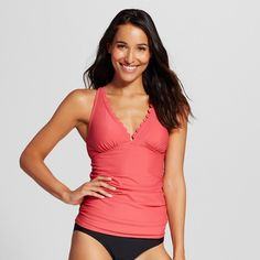Women's Scallop Tankini Top -