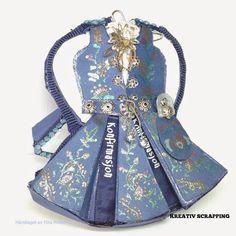 BUNAD TUTORIAL Scrap, Mini, Dresses, Cards, Fashion, Vestidos, Moda, Fashion Styles, Dress