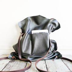 Image of mail bag - back pack [NOT IN STOCK. MADE TO ORDER]אהבתי את הבלתי מחוייבות, הרכות,הסגירה והכל! זו הבחירה שלי!!