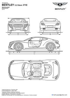 16 best blueprints concept cars images on pinterest in 2018 cars amg concept blueprints by hanif yayan on deviantart malvernweather Image collections