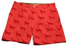 Red Irish Setter Convertible Shorts | Lacrosse Playground