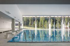Hallenbad, Spa und Sportzentrum Ovaverva in St. Moritz - Bad und Sanitär - Freizeit/Sport - baunetzwissen.de