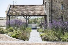 Check out this property for sale on Rightmove! Simply pretty - bold award-winning tythe barn conversion near Bristol, Sept Barn Conversion Exterior, Barn Conversions, Barn House Conversion, Beach House Style, Cottage Extension, Tythe Barn, Agricultural Buildings, Converted Barn, Barn Renovation
