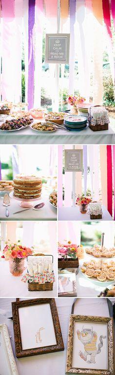 Decoração para Chá de bebêhttp://www.coisasdamy.com.br/20130722/cha-de-bebe-tema-livros-de-historias.htm