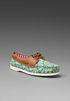 SPERRY TOP-SIDER A/O 2 Eye in Liberty Ditsy Floral at Revolve Clothing - Free Shipping!