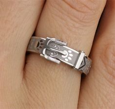 Paw Print Collar Remembrance Ring Item # 49900.  The Animal Rescue Site. Proceeds from sale feed rescue animals.
