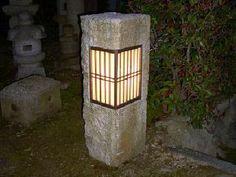 Kyoto stone lantern.