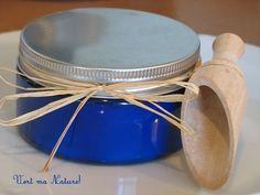 sels de bain effervescents & huiles essentielles lavande - vanille - Nathalie Chausseau