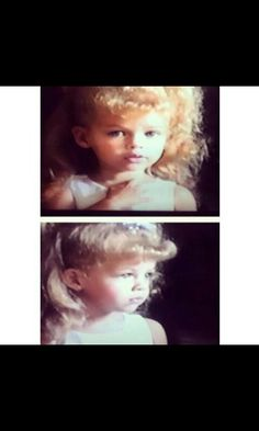 Blonde hair baby