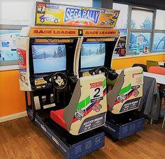 Arcade Rally Game Hire