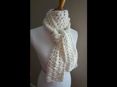 Learn how to crochet the Vanilla Bean Scarf with this easy tutorial! Visit the Fiber Flux blog for free patterns & tutorials: http://fiberflux.blogspot.com/ ...