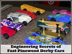 Engineering Secrets of Fast Pinewood Derby Cars #STEM #pinewoodderby