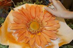 silk flower help