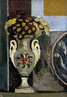 Polyanthus in Vase Artist: Vanessa BellYear: c.1930Type: Oil on canvas