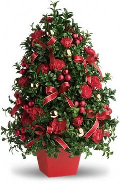 Deck the Halls Tree Flowers