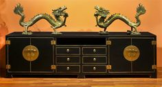 Ming Style Media Cabinet